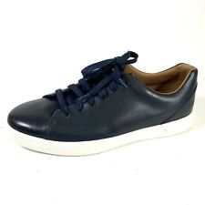 Clarks Un Costa Lace Men's Fashion Sneakers 26140950 Navy Leather Size 9M New