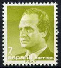 España 1985-92 SG#2816, 7p el rey Juan Carlos I estampillada sin montar o nunca montada definitiva #D64387