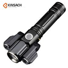 Linterna T6 XPE IPX6 USB recargable 10000LM LED Luz Militar Antorcha Táctico Nue
