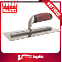 Ragni Trowel 280mm x 120mm Stainless Steel Flat 418S MADE IN ITALY