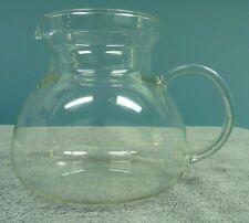 Vintage Clear Glass 48 oz. Pitcher