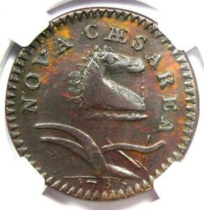 1786 New Jersey Colonial Coin (Bridle) - Certified NGC AU53 - $4,750 Value!
