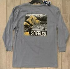 NEW Southern Fried Cotton Hunting Dog Pocket T-shirt Size YL YouthLarge Cool