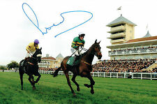 Tony AP McCOY Signed Autograph 12x8 Jockey Photo Gold Cup Winner AFTAL COA