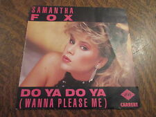 45 Tours Samantha Fox - Do ya do ya