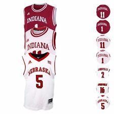 NCAA Official Replica Basketball Jersey Collection by Adidas Boys SZ (4-7)