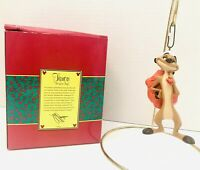 VTG Disney Artist Collection The Lion King TIMON Ornament In Box RETIRED RARE