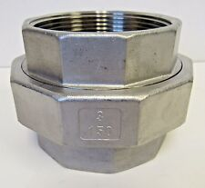 "New 3"" FNPT Union 304 Stainless Steel Class 150"