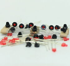 Jtd11 10 Sets Target Faces With LEDs for Railway Signal N or Z Scale 1 Aspect