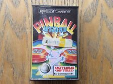Pinball Wizard Commodore 64 Game! Look In The Shop!