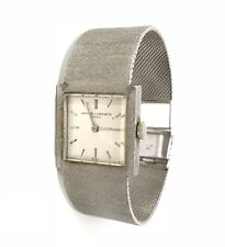 Vintage Vacheron & Constantin 18k White Gold Watch Mesh 63.60 Grams