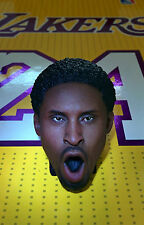 Original 1:6 ENTERBAY Kobe Bryant 3.0 Figure: Young Afro Head Sculpt model