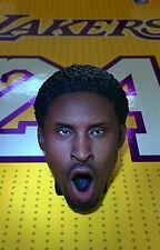 Original 1:6 ENTERBAY Kobe Bryant 3.0 Figure: Young Afro Head Sculpt model