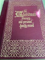 The Christmas Treasury & Personal Family Record Book - Franklin Mint 1979