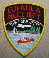AL Eufaula Alabama Police Patch