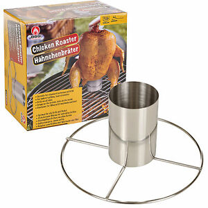 Barbecue Beer Can Vertical Chicken Roaster Grill Stand Cooker Holder BBQ Tools