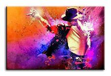 Large Wall Art Canvas Print of Michael Jackson Framed