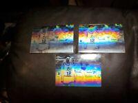 1991-92 Upper Deck Award Winner Holograms #AW3 John Stockton 3 card lot.