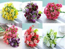 Kunstpflanze Kunstblume Rose Künstliche Kunst Blumen Blüten Seidenblumen Lila