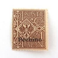 .ITALY OFFICES ABROAD CHINA, PEKING PEEHINO 1c MH NICE GRADE STAMP.