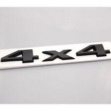 NEW 3D Auto Car Motor Black ABS 4 x 4 4X4 Rear Emblem Decal Badge Sticker JEEP