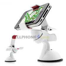 Universal Phone Car Mount For Samsung Galaxy S2 S3 S4 S5 S6 S7 - White