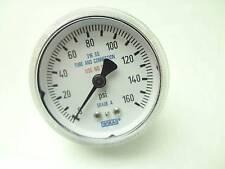"Wakai Pressure Gauge 316 SS 1/4"" NPT Connection 0 -160 PSI Ranging"
