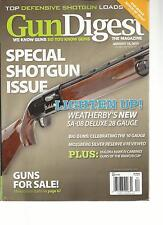 GUN DIGEST, AUGUST, 12th 2013  ( TOP DEFENSIVE SHOTGUN LOADS * SPECIAL SHOTGUN