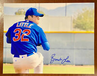 BRENDON LITTLE Signed Chicago CUBS 11x14 PHOTO Autograph 2017 1st Round Pick