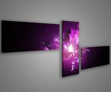 Quadri moderni astratti 180 x 70 stampe su tela canvas con telaio MIX-S_37
