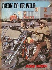 Easy Rider Born to be Wild Motorcycle Garage Fridge Magnet