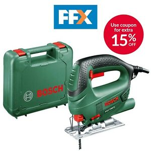 Bosch Green PST 700 E 240v Compact Jigsaw 500w Top Handle In Case Low Vibration