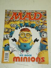 MAD #534 AUGUST 2015 UK MAGAZINE MINIONS AVENGERS RAY DONOVAN COSPLAY