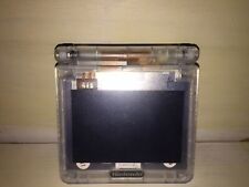 Game Boy Advance GBA SP AGS 101 Clear - Charger & Game