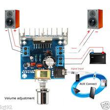DC 12V TDA7297 dual 2x15W Digital Audio Amplifier DIY Kit 2-Channel Amp Module