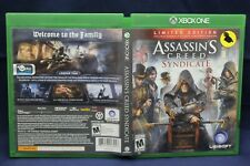 Lot of 2 XBox One Assassin's Creed Games The Ezio Collection and Syndicate E2B1