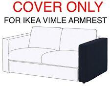 2 IKEA VIMLE COVER SLIPCOVER FOR ARMRESTS  Orrsta black-blue