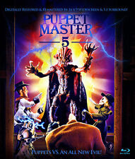Puppet Master 5: Puppets vs An All New Evil Blu-ray, Charles Band, Full Moon