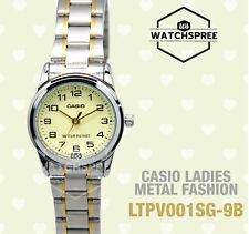 Casio Ladies' Standard Analog Watch LTPV001SG-9B LTP-V001SG-9B