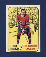 1967-68 O-Pee-Chee #69 JOHN FERGUSON (EX+) Montreal Canadiens !!