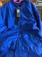 Mens Royal Blue Waterproof Billabong Jacket/Coat Size Large, BNWT
