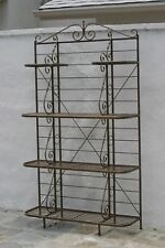 ANTIQUE FRENCH BRONZE MULTIPLE SHELVES, FOR DISPLAY PLANTS /OBJECTS, CIRCA 1900