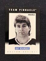 1991-92 PINNACLE SCORE RAY BOURQUE TEAM PINNACLE B #B-2