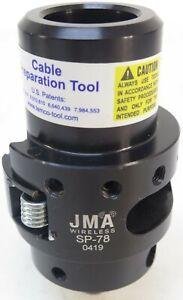 """JMA SP-78 Strip & Prep Tool for 7/8"""" Cable"""