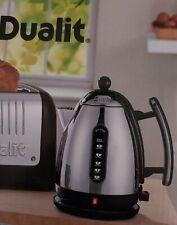 Boxed DUALIT Fast Boil 1.5L Lite Jug Kettle Model 72000 JKT43 Silver & Black