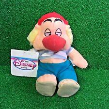 "NEW Disney Store Exclusive Peter Pan SMEE Mini Bean Bag 8"" Plush Toy SHIPS FREE"
