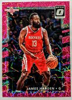 JAMES HARDEN 2017-18 Panini Optic Pink Velocity Holo Prizm /79 INVEST HOT🔥
