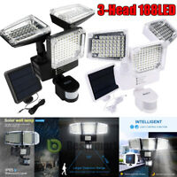 ABS Solar Lights Outdoor Security PIR Motion Sensor 6000Lumens 188 LED Spotlight