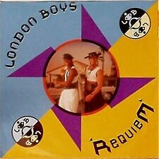 "London Boys son quiem 'importación alemana Foto Manga 7"" SINGLE"