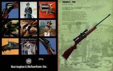 Harrington & Richardson Arms 1976 Gun Catalog